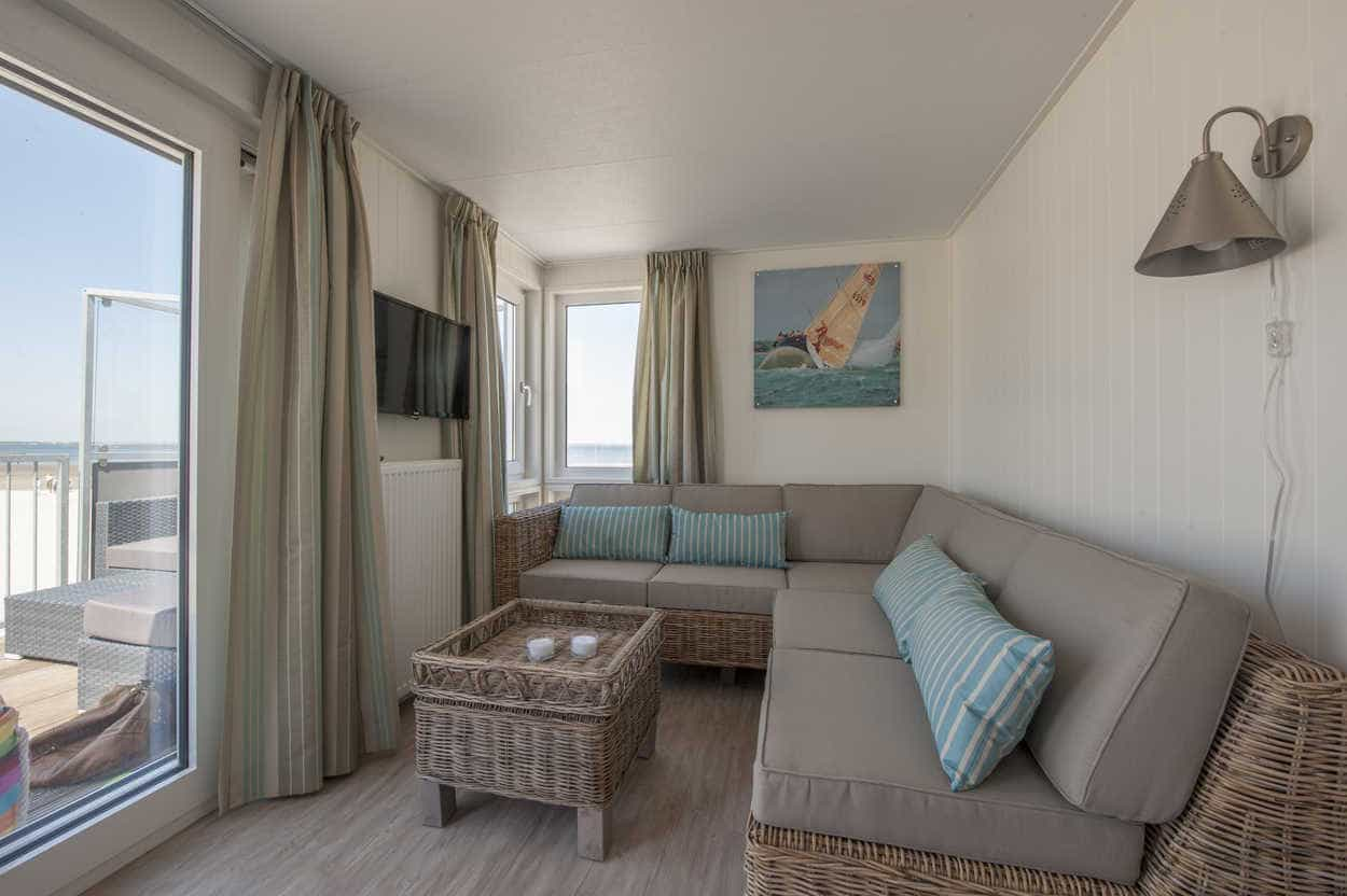 Interieur-strandhuisje-Roompot-Kamperland-Zeeland