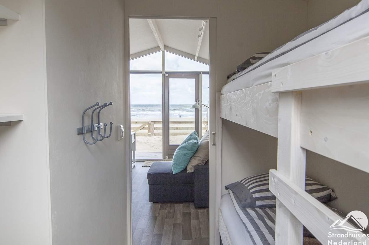 Stapelbed-strandhuisje-Wijk-aan-Zee