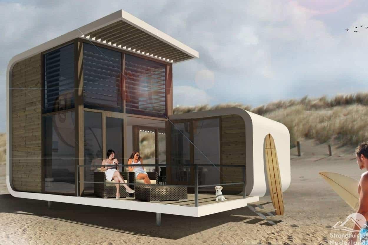 Strandhuisje-Nieuwvliet