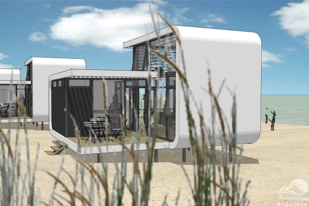 strandhuisjes-Nieuwvliet-ontwerp