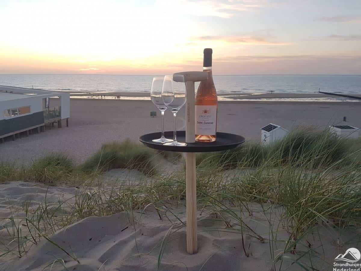strandtafel-strand-Cadzand