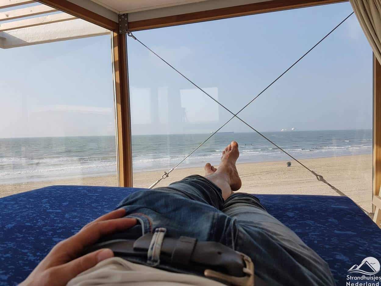 Slaapkamer-boven-strandhhusije-Nieuwvliet