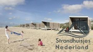 Haagse strandhuisjes Kijkduin