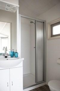 Badkamer strandhuisje Wijk aan Zee