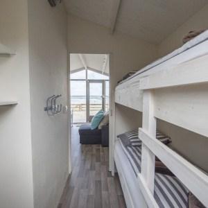 Slapelbed strandhuisje Wijk aan Zee