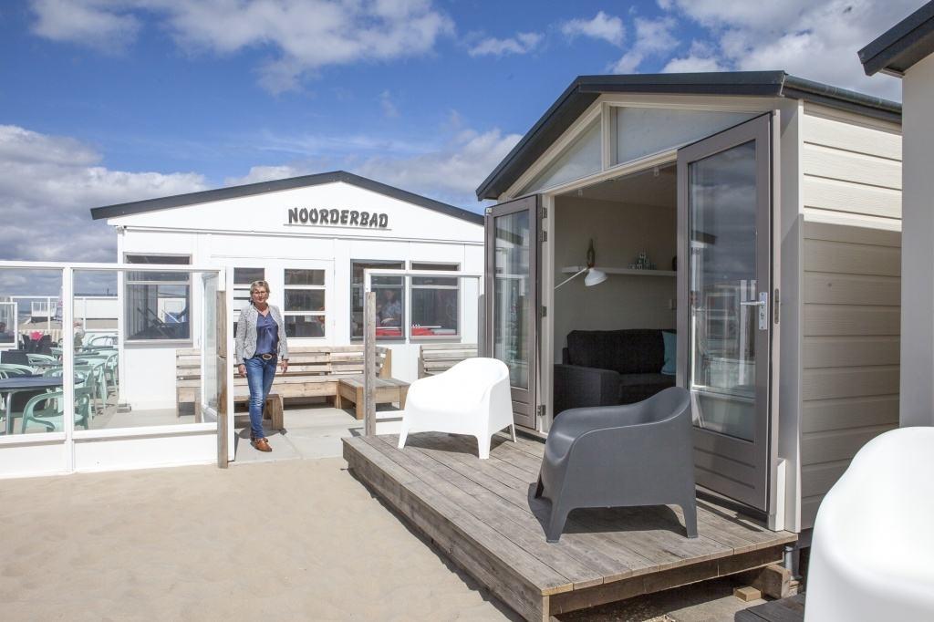 Strandhuisje en strandpaviljoen Wijk aan Zee