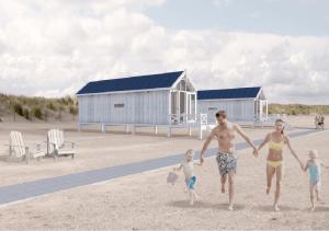 Strandhuisjes Kijkduin