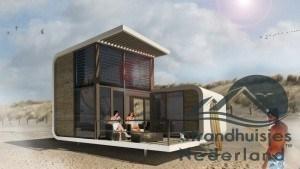 Strandhuisje Nieuwvliet
