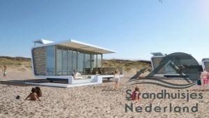 Strandhuisjes Cadzand Zeeland