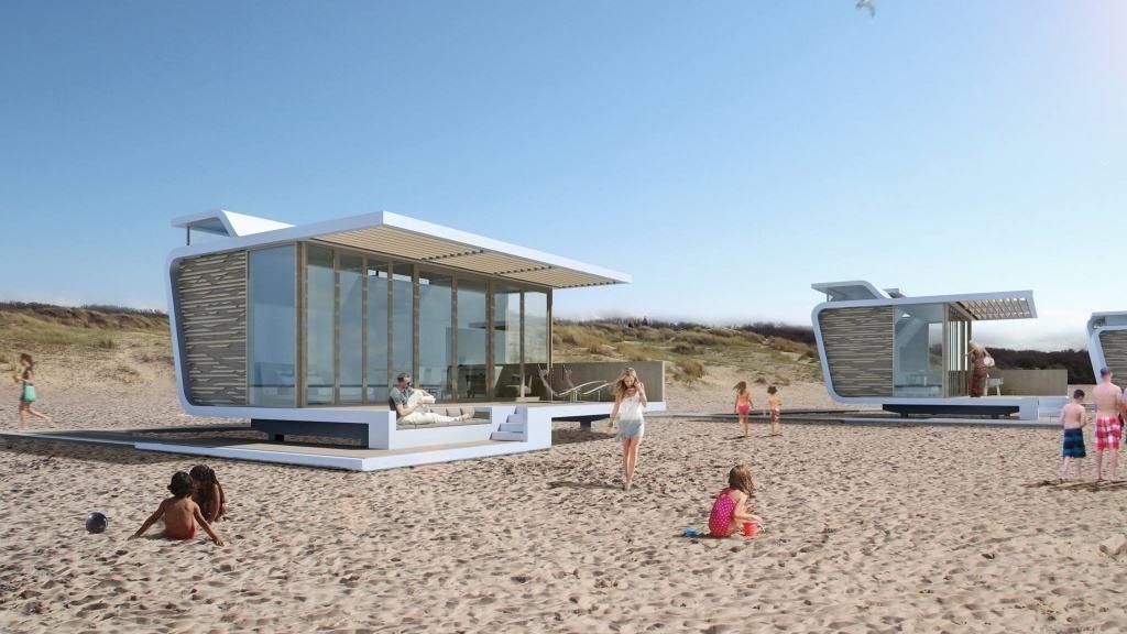 2. Strandhuisjes-Cadzand-Zeeland