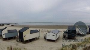 strandhuisjes met zeezicht