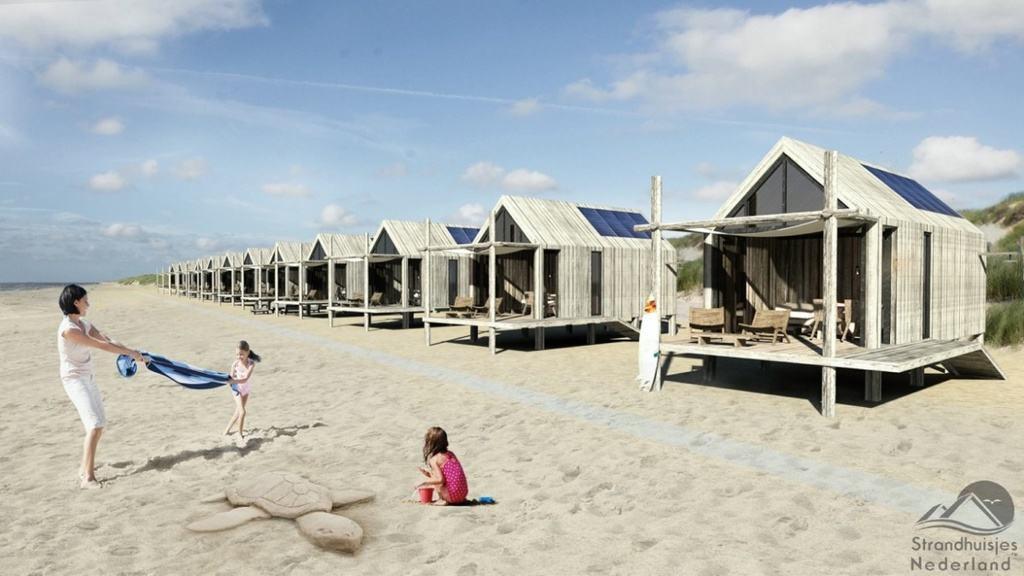 Strandhuisjes Nederland ontwerp