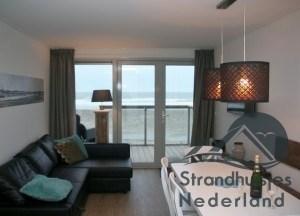 interieur huisje aan zee Hoek van Holland