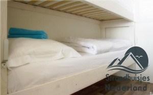 stapelbed strandhuisje Wijk aan Zee