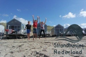 Kinderen voor strandhuisjes Julianadorp