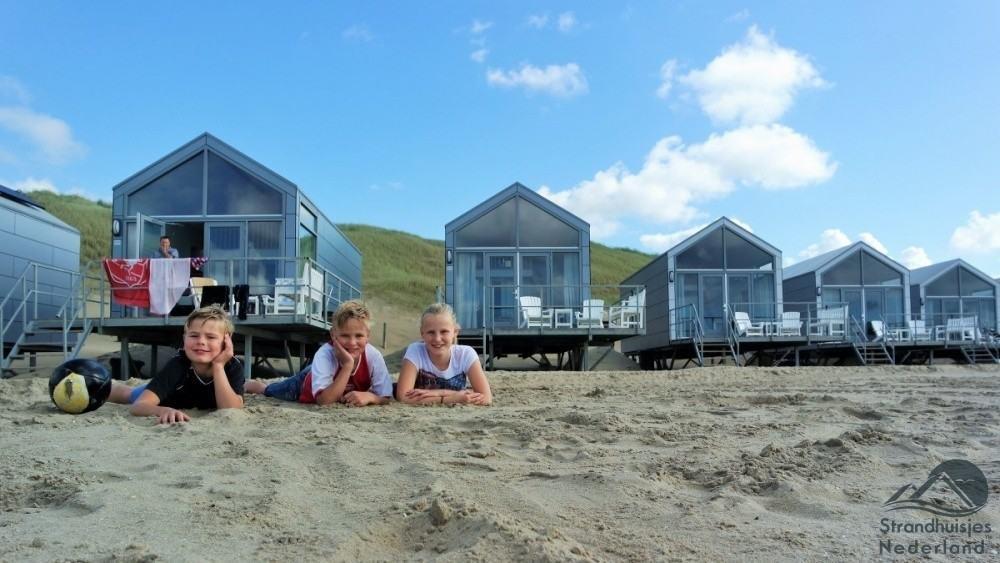 Strandhuisjes Julianadorp aan Zee