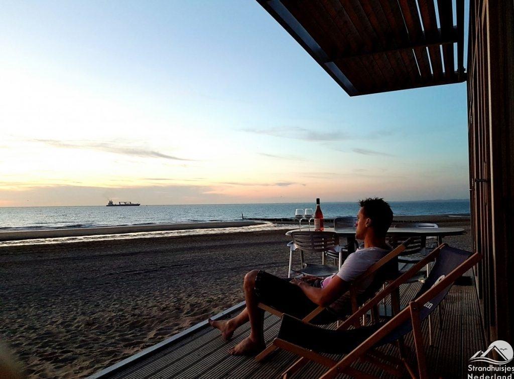 strandterras strandhuisje Cadzand-Bad