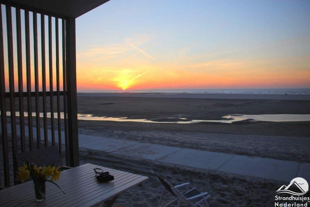 Strandhuisje Kijkduin aan Zee