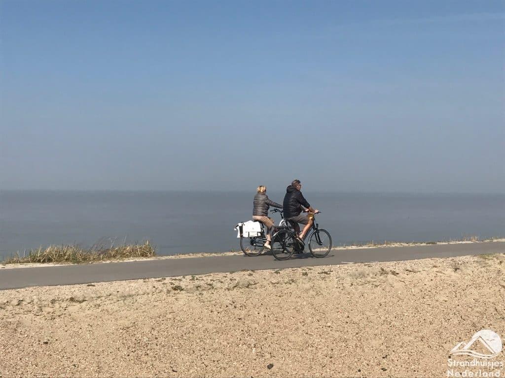 Radfahren Dünen Cadzand