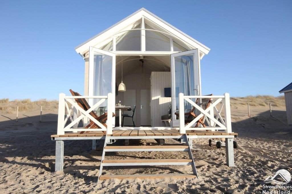 Haagse-strandhuisje