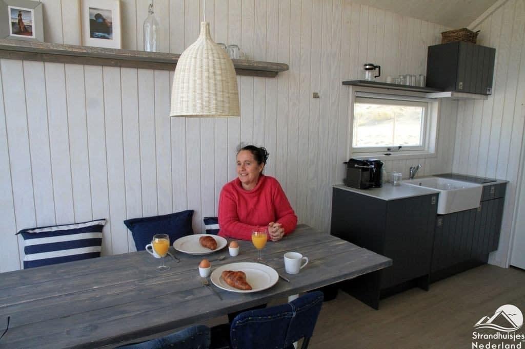 Den Haager Strandhäuser Frühstück