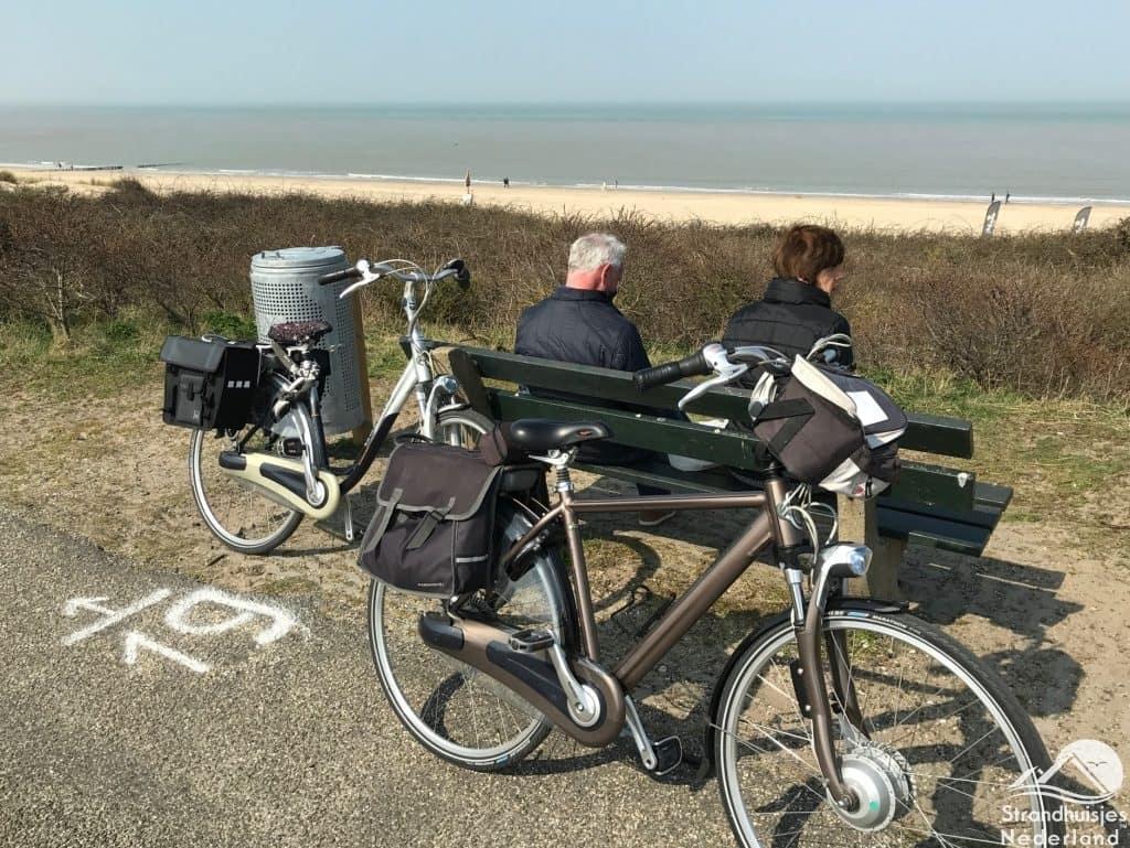 Strand Cadzand fietsen duinen
