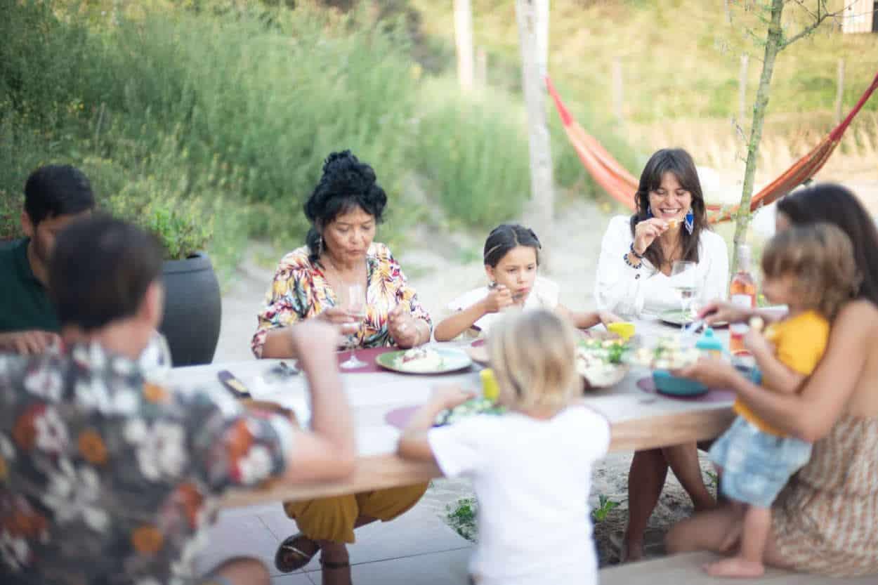 Familiediner vakantiepark Zandvoort
