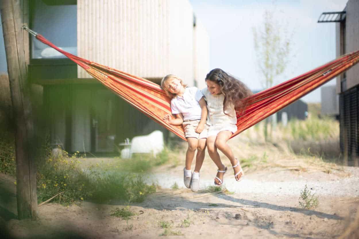 Lekker in de hangmat @ Vakantiepark Zandvoort