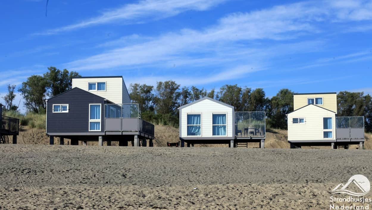 Strandhäuser, Kamperland, Zeeland.