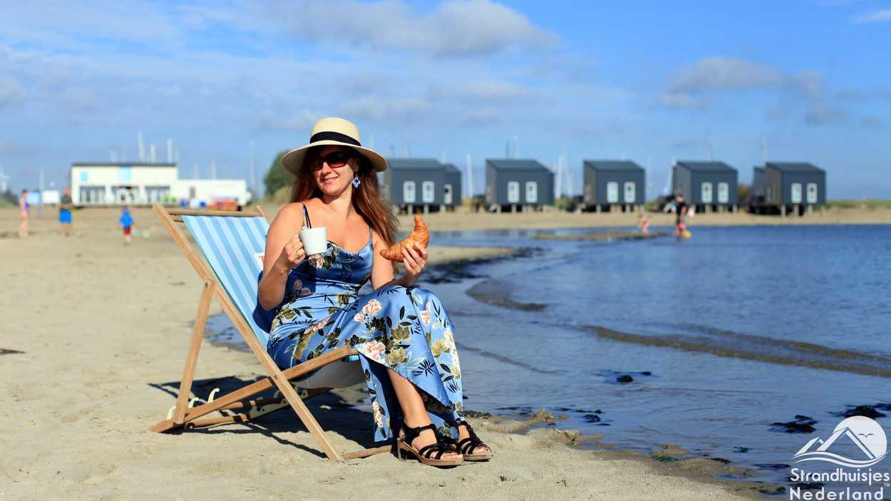 Wachen Sie von Ihrem Strandhaus am Strand von Kamperland auf