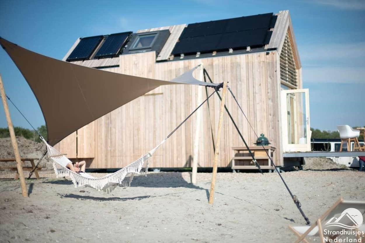 Hangmat Strandhuisje Grevelingen
