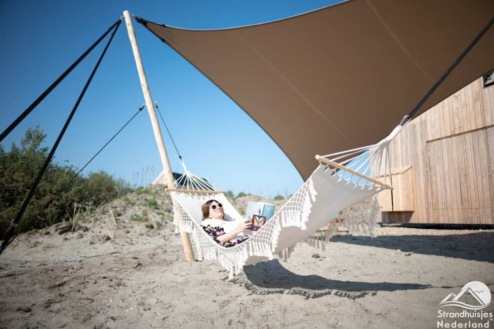 Hangmat strandhuisje Ouddorp