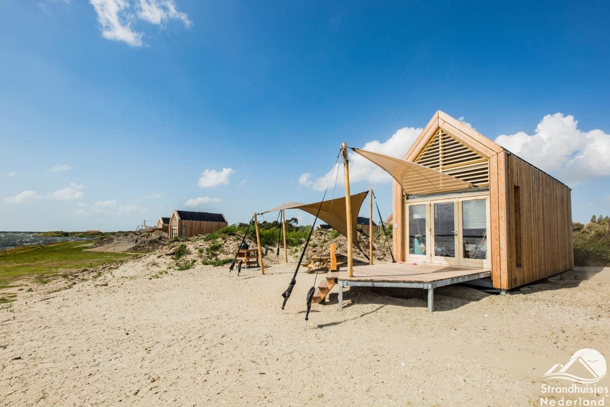 Strandhuisjes Grevelingenstrand