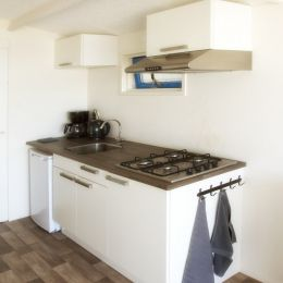 Keuken strandhuisje Wijk aan Zee