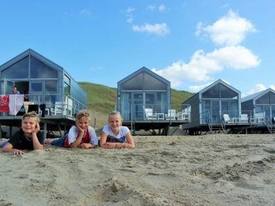 Strand voor strandhuisjes Julianadorp aan Zee