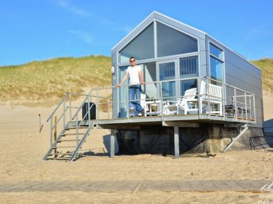 Strandhuisje Julianadorp aan Zee